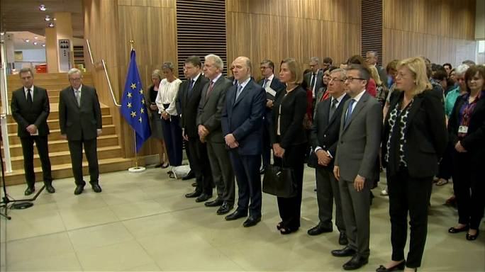 EU Commission: 1-minute silence for Manchester victims