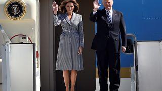 دیدار دونالد ترامپ با رهبران کشورهای عضو ناتو در بروکسل