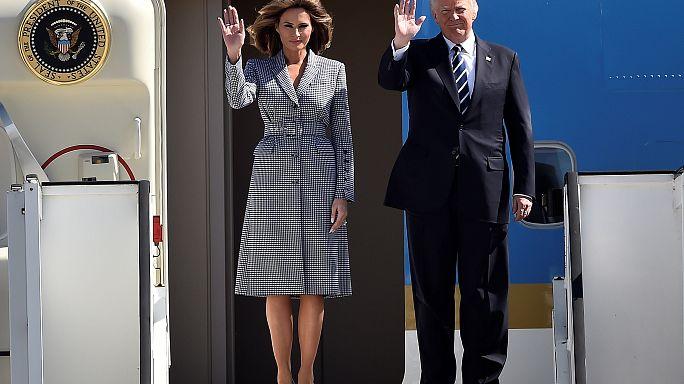 قمة حلف النيتو: القمة الأولى لدونالد ترامب