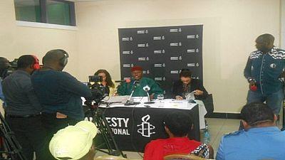 Cameroon authorities halt presser over jailed 'SMS joke' students