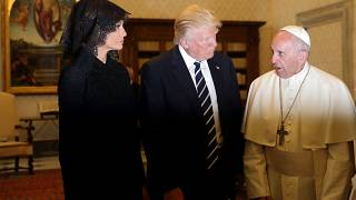 Trump says meeting pope 'honour of a lifetime'