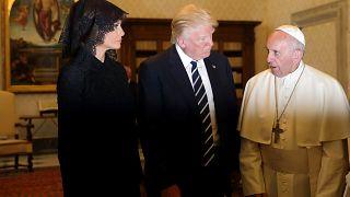 POTUS trifft auf Pontifex