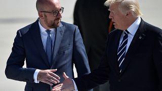 Breves de Bruselas: Trump se estrena en Bruselas y en la OTAN