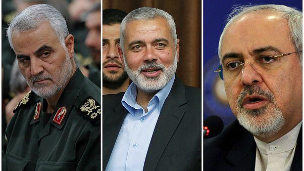 رابطه ایران و حماس؛ تبریک قاسم سلیمانی و ظریف به اسماعیل هنیه