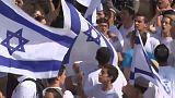 العفو الدولية تدين مسيرة الأعلام الإسرائيلية في القدس