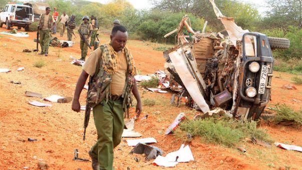 مقتل 8 من الشرطة في تفجيرين بكينيا
