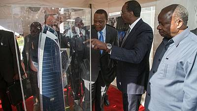 Kenya cuts the sod for Africa's tallest building in Nairobi