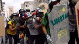 Übermäßige Gewalt in Venezuela