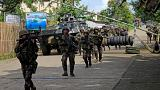 Philippine troops battle Islamists in besieged city
