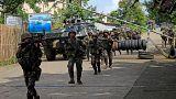 Menekülnek a harcok elől a Fülöp-szigeteken