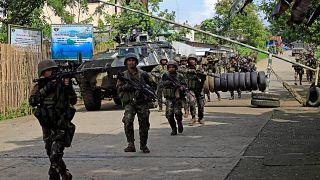 L'armée philippine traque les djihadistes à Marawi