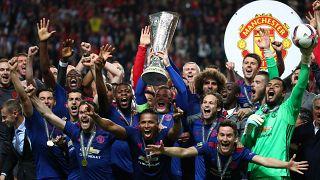 مانشستر يونايتد يتوج بلقب الدوري الأوروبي
