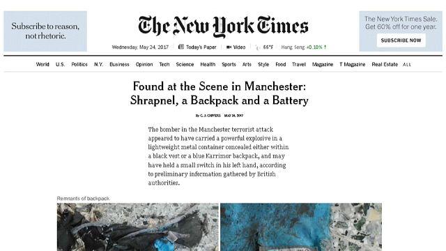 Manchester, fuga di notizie: l'ira di Londra contro gli USA