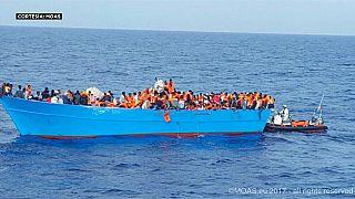 Al menos 34 inmigrantes mueren en un naufragio en las costas libias