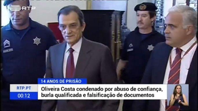 Caso BPN: Oliveira e Costa condenado a 14 anos de prisão