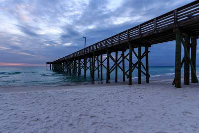 The pier at Panama City Beach.