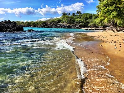 Hapuna Beach is located on Hawaii\'s Big Island.