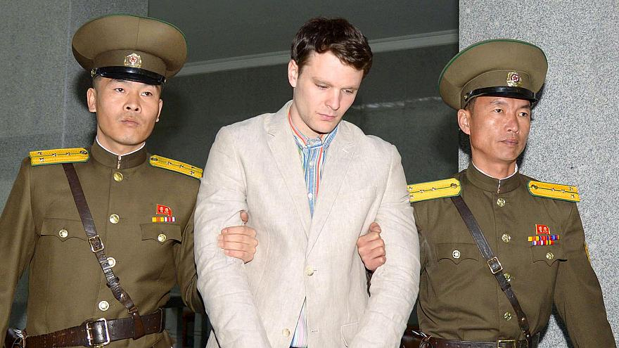 Image: Otto Warmbier in 2016