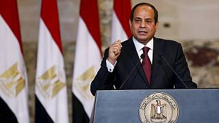 Egyptian president rejects Sudan's accusation of backing rebels