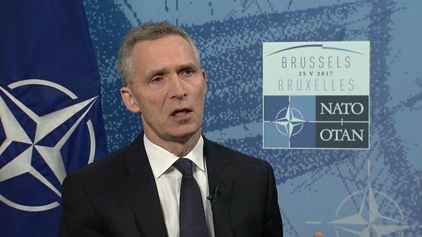 """Столтенберг: """"Трамп разделяет подход НАТО к России"""""""