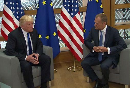 Erdoğan Brüksel'de AB yetkilileri ile görüştü
