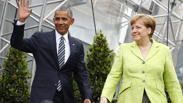 Merkel und Obama über Scheitern und langen Atem