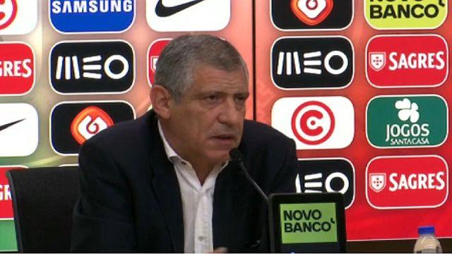 Futebol: Fernando Santos não convoca Éder e Renato Sanches