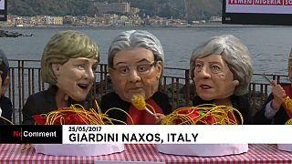 Ηγέτες-μαριονέτες στη σύνοδο της G7