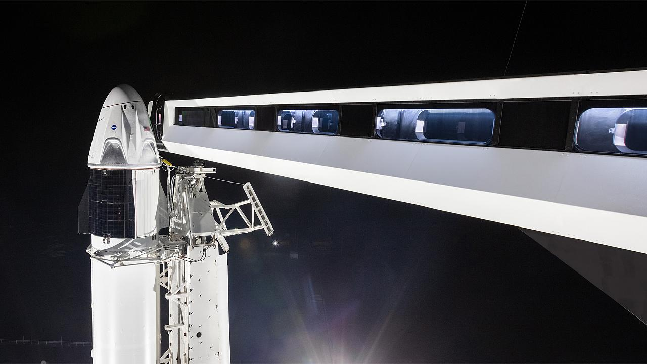 Image: SpaceX Crew Dragon Ship