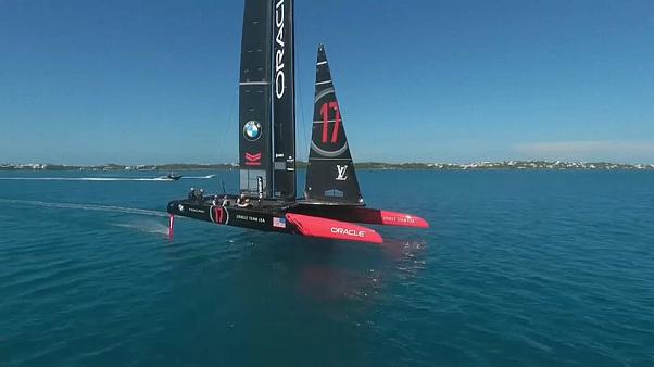 Fingers crossed for good America's Cup weather