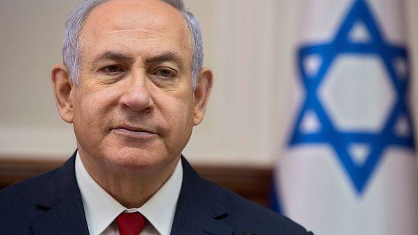 Image: Israeli Prime Minister Benjamin Netanyahu attends the weekly cabinet