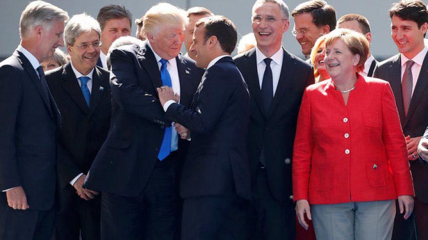 لقاءات هامة على هامش قمة الناتو المنعقدة في بروكسل