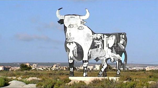 SAM3 rinde homenaje al Guernica de Picasso