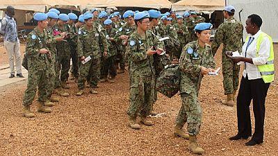 Japanese troops in South Sudan end U.N. peacekeeping mission