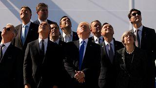 Trump adresse un sermon à 23 membres de l'OTAN