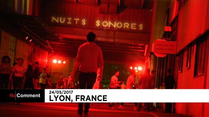 Lyon müziğin sesini açtı