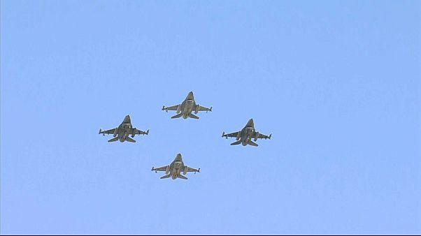 Show al vertice NATO