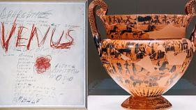 Μουσείο Κυκλαδικής Τέχνης: O Cy Twombly συνομιλεί με την ελληνική αρχαιότητα