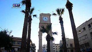 ربيع إدلب...فعاليات لاعادة تأهيل المرافق العامة للمدينة التي دمرتها الحرب