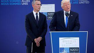 """Nato, Trump: """"Mettete più fondi"""""""