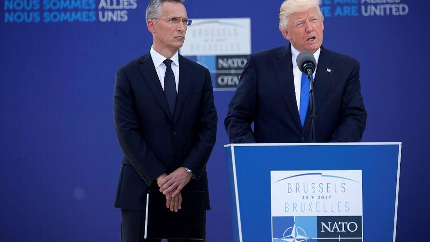 Trump beszéde nagy visszhangot keltett a NATO-csúcson