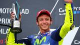Valentino Rossi sufre un accidente de motocross