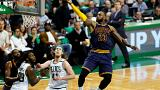 "LeBron James recordista dos ""playoffs"" - põe Cavaliers na final"