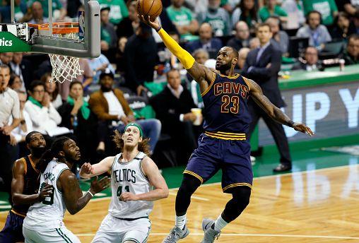 Cavs crush Celtics and devour records as LeBron's boys book NBA finals spot