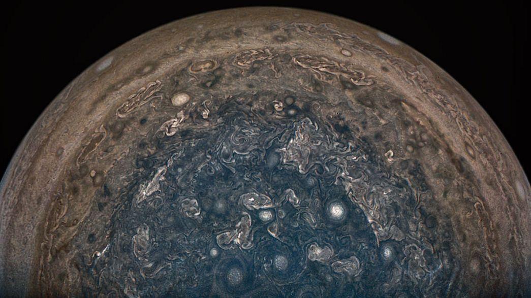 Drámaian szép felvételek a Jupiterről