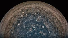 First close-up pictures of Jupiter reveal planet's dramatic features