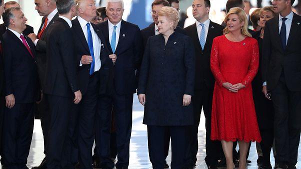 Ο Ντόναλντ Τραμπ «σκρινάρει» τον ηγέτη του Μαυροβουνίου