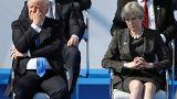 NATO zirvesine Trump'ın gafları damgasını vurdu