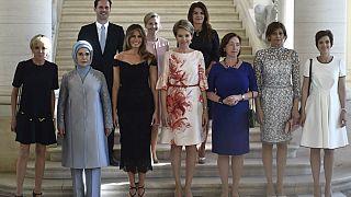 First Lady'ler arasında ilk kez bir eşcinsel