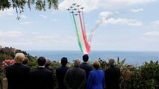 Show aéreo no G7